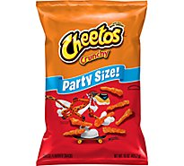 CHEETOS Snacks Cheese Flavored Crunchy Party Size - 15 Oz