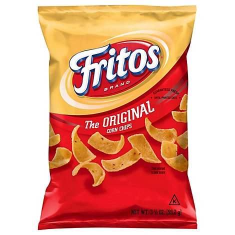 Fritos Corn Chips - 3.5 Oz