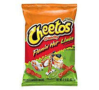 Cheetos Crunchy Flamin Hot Limon - 3.25 Oz