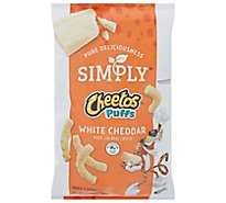 Simply Cheetos White Cheddar Puffs - 2.5 Oz