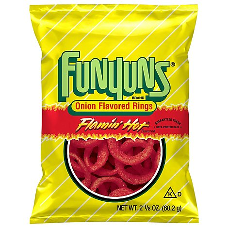 Funyuns Onion Rings Flamin Hot - 2.125 Oz