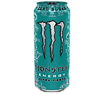 Monster Energy Drink Sugar Free Ultra Fiesta - 16 Fl. Oz.
