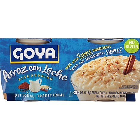 Goya Traditional Rice Pudding - 4-4 Oz