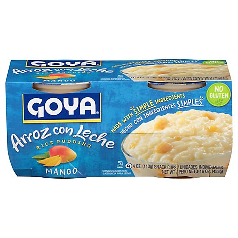 Goya Mango Rice Pudding - 4-4 Oz