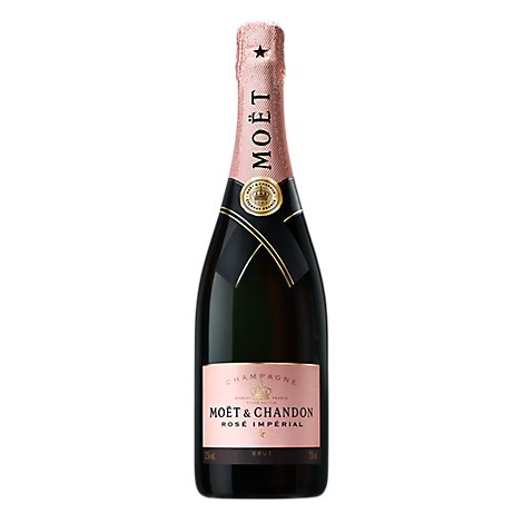 Moet & Chandon Champagne Brut Impreial Rose - 750 Ml