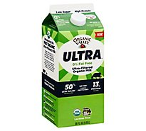 Organic Valley Organic Milk Ultra Filtered - 56 Fl. Oz.