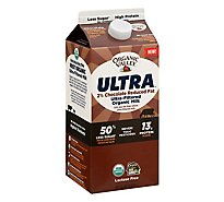 Organic Valley 2 Percent Chocolate Milk - 56 Fl. Oz.