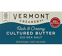 Vermont Creamery Butter Cultured Salted - 8 Oz