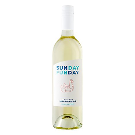 Sunday Funday Sauvignon Blanc Wine - 750 Ml
