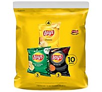 Lays Potato Chips Variety Pack 10 Count - 10 Oz