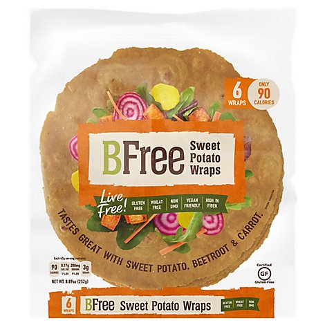 Sweet Potato Wrap Gluten Free - 8.89 Oz