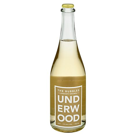 Underwood Bubbles Brut Wine - 750 Ml