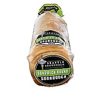 Seattle Sourdough Baking Company Bread Sandwich Round Sourdough - 24 Oz