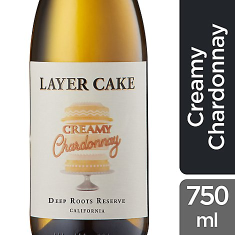 Layer Cake Chardonnay Creamy Wine - 750 Ml