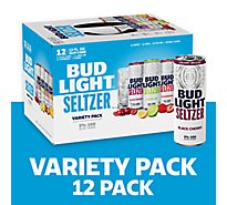 Bud Light Seltzer Gluten Free Variety Pack In Slim Cans - 12-12 Fl. Oz.