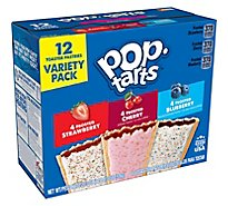 Pop-Tarts Breakfast Toaster Pastries Variety Pack - 20.3 Oz