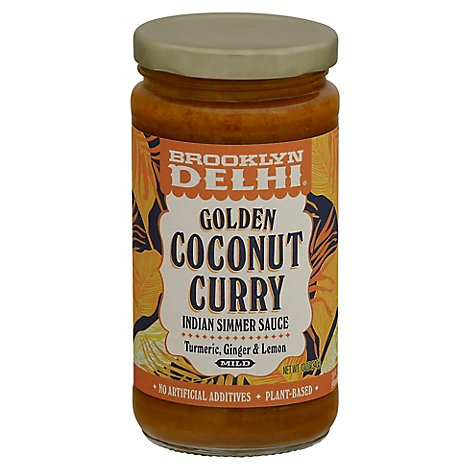 Brooklyn Delhi Sauce Simmer Ccnut Curry - 12 Oz