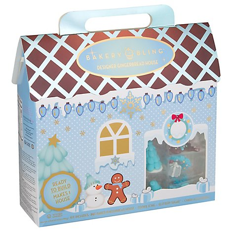 Winter Wonderland Designer Gingerbread House - 26.97 Oz