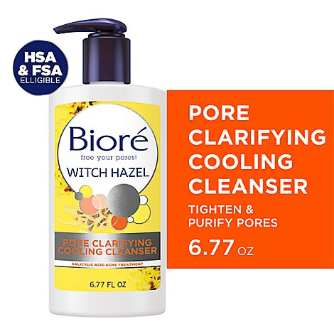 Biore Pore Clarifying Cleanser - 6.77 Fl. Oz.