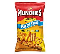 Munchies Snack Mix Cheese Fix Party Size - 13 Oz
