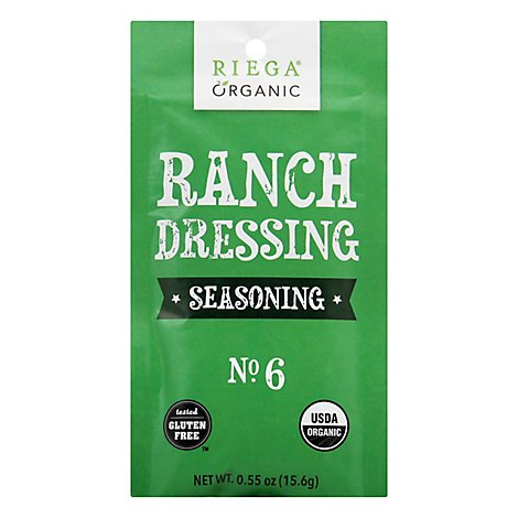 Riega Seasoning Ranch Drssg Org - 0.55 Oz
