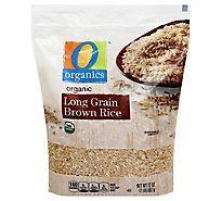 O Organics Rice Brown Long Grain - 32 Oz