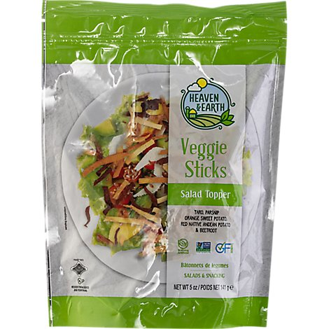 H&E Medley Mix Veggie Toppers - 5 Oz