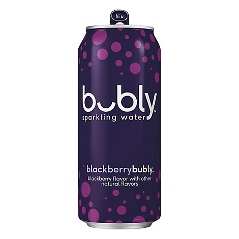 Bubly Sparkling Water Blackberry Can - 16 Fl. Oz.