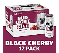 Bud Light Seltzer Black Cherry In Cans - 12-12 Fl. Oz.