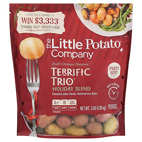 Potatoes Terrific Trio - 3 Lb