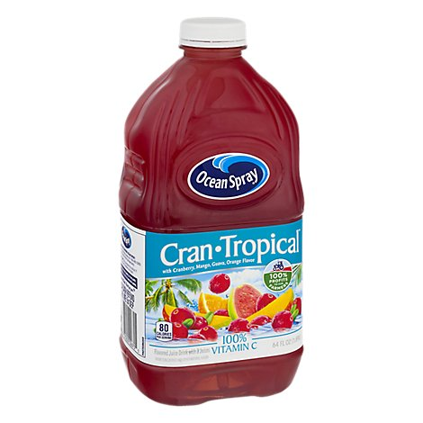 Ocean Spray Juice Drink Cranberry Tropical - 64 Fl. Oz.
