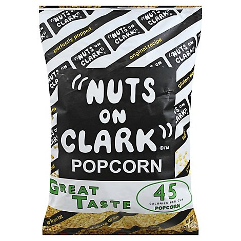Nuts On Clark Great Taste Popcorn - 4 Oz