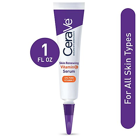Cerave Skin Renewing Vitamin C Serum - 1 Fl. Oz.