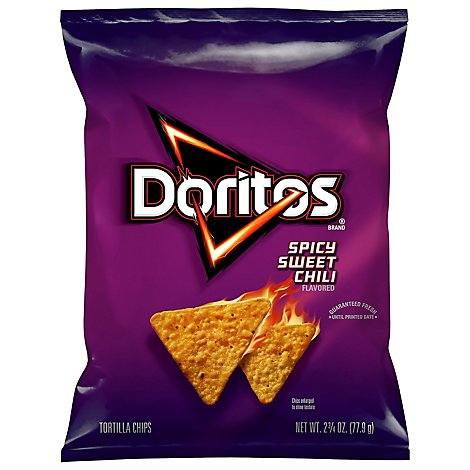 Doritos Tortilla Chips Spicy Sweet Chili - 2.75 Oz