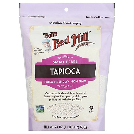 Bobs Red Mill Tapioca Small Pearl - 24 Oz