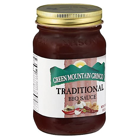Green Mountain Gringo Traditional Bbq Sauce - 18 Oz