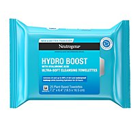 Neutrogena Hydroboost Facial Cleansing Wipes - 25 Count
