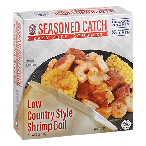 Seasoned Catch Low Country Shrimp Boil - 18 Oz