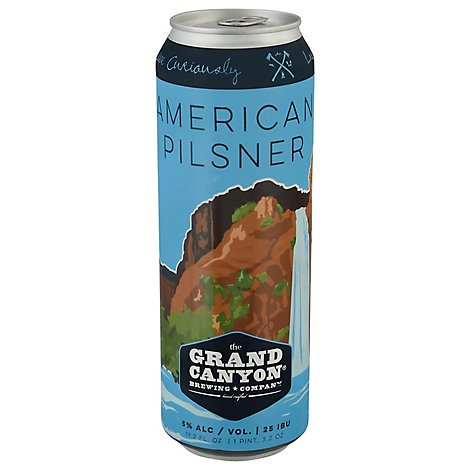 Grand Canyon American Pilsner In Cans - 19.2 Fl. Oz.