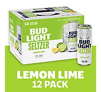 Bud Light Seltzer Lemon Lime In Cans - 12-12 Fl. Oz.