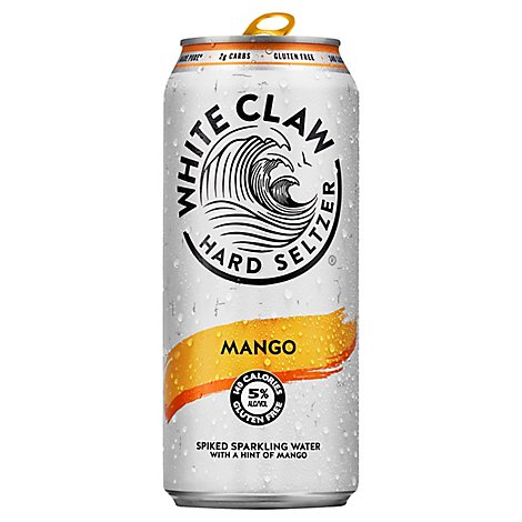 White Claw Mango In The Can - 16 Fl. Oz.