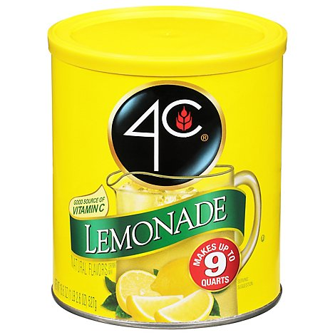 4c Lemonade Drink Mix - 18.6 Oz