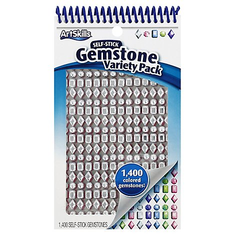 Artskills Gemstone Variety Pack - Each