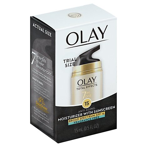 Olay Total Effects Face Moisturizer 7in1 SPF 15 - 0.5 Fl. Oz.