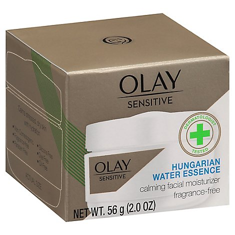 Olay Sensitive Facial Moisturizer Calming Fragrance Free - 2 Oz
