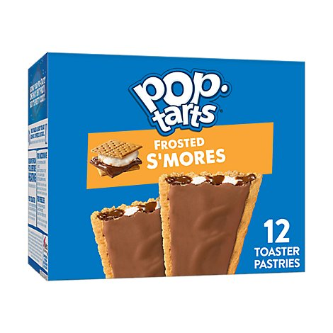 Pop-Tarts Breakfast Toaster Pastries Frosted Smores - 20.3 Oz