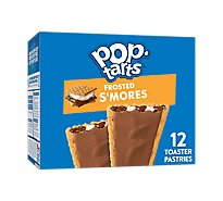 Pop-Tarts Toaster Pastries Frosted Smores 12 Count - 20.3 Oz
