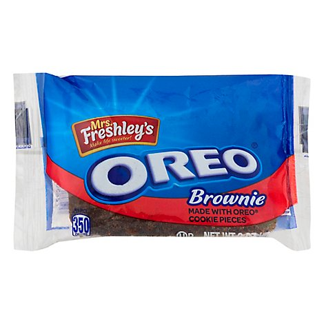 Mrs Freshleys OREO Brownie - 3 Oz