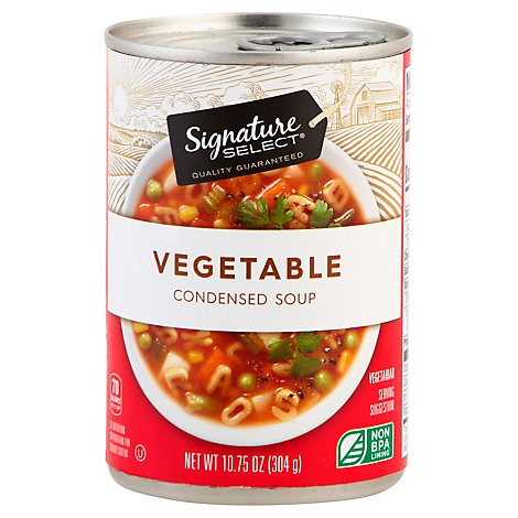 Signature Select Soup Condensed Vegetable - 10.75 Oz