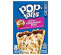 Pop-Tarts Toaster Pastries Frosted Cinnamon Roll 8 Count - 13.5 Oz